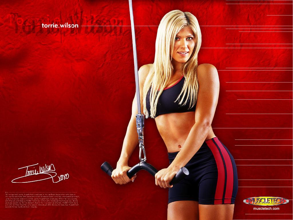 Torrie wilson fitness model