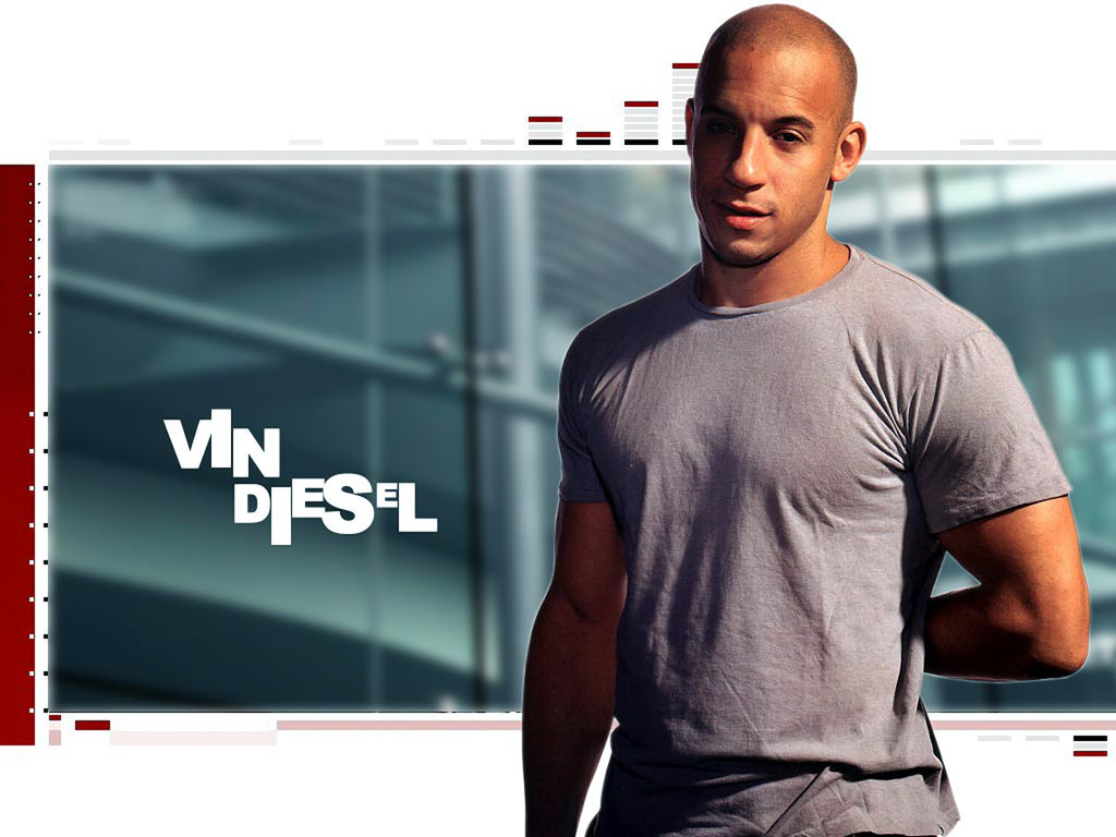 Vin diesel actor Wallpaper
