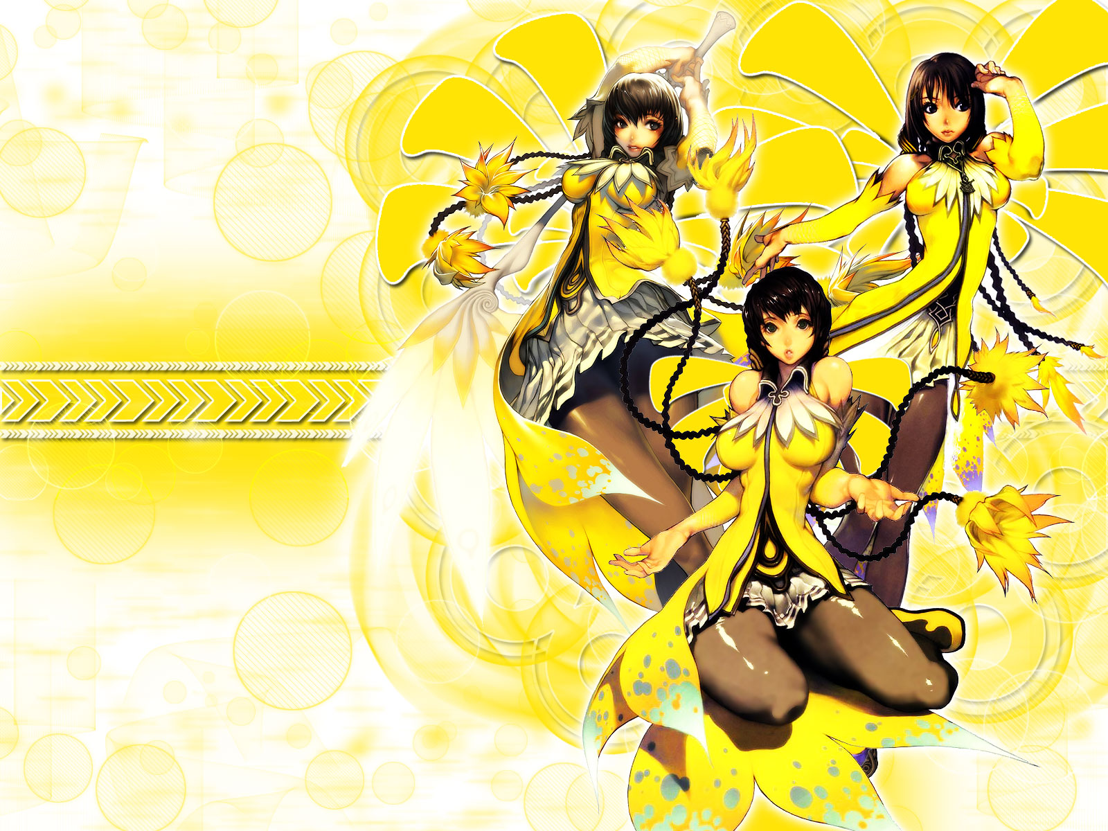 Yellow-goddesses